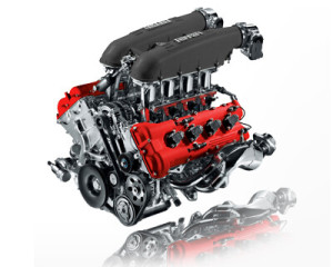 Ferrari 458 engine
