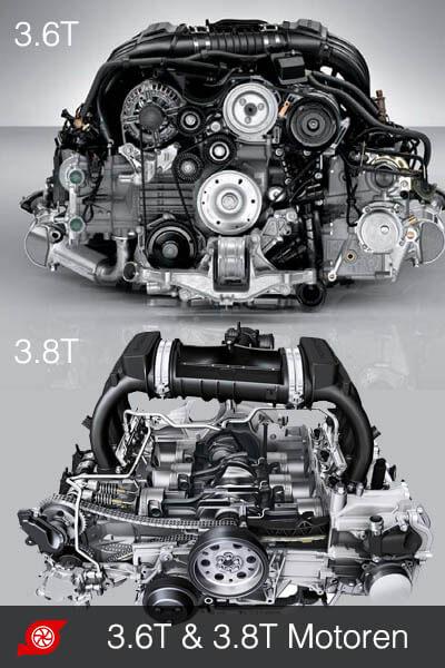 Porsche 911 997.2 engine