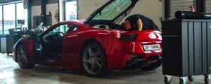 Ferrari 458 tuning